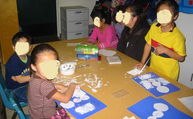Let it Snow! A Quick and Easy Winter Art Activity