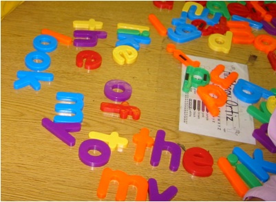 Top Ten Ways to Use Magnetic Letters – Hands-On Kindergarten Reading and Writing Activities