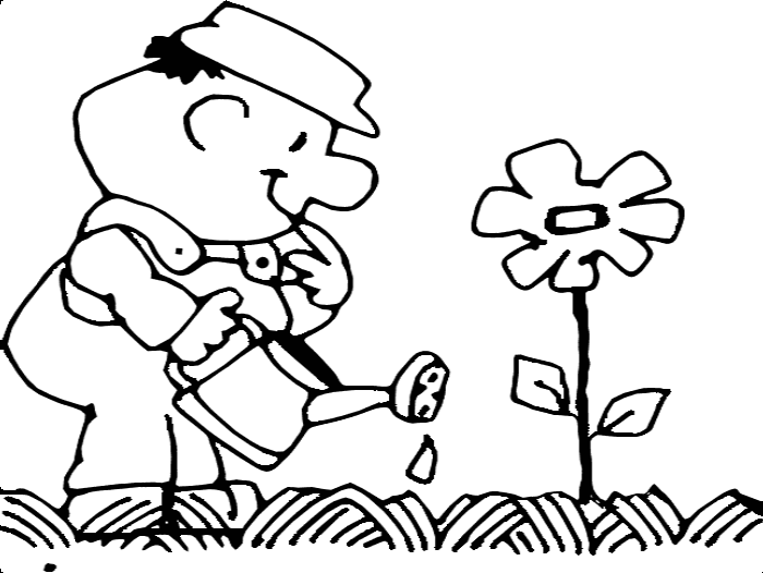 Planting Seeds Coloring Page | Sermons4Kids | 526x700