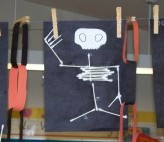 Cotton Swab (Q-Tip) Skeletons