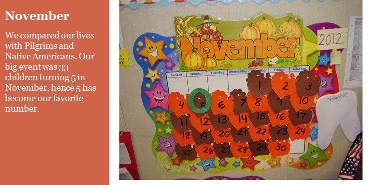 Transitional Kindergarten with Debra Weller – November