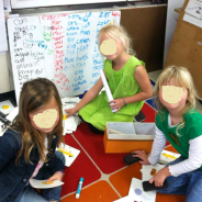 An Easy-Peasy Kindergarten Writing Center