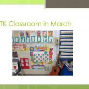 Transitional Kindergarten with Debra Weller – March