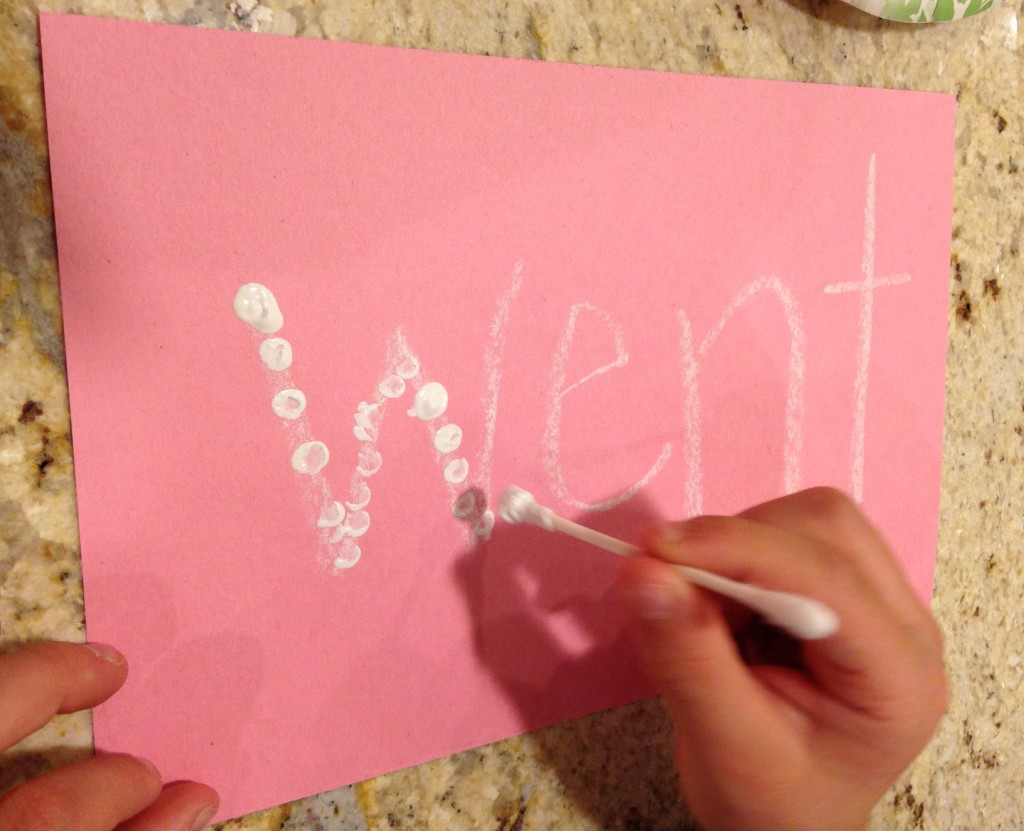 Easy Kindergarten Valentine's Day Sight Words