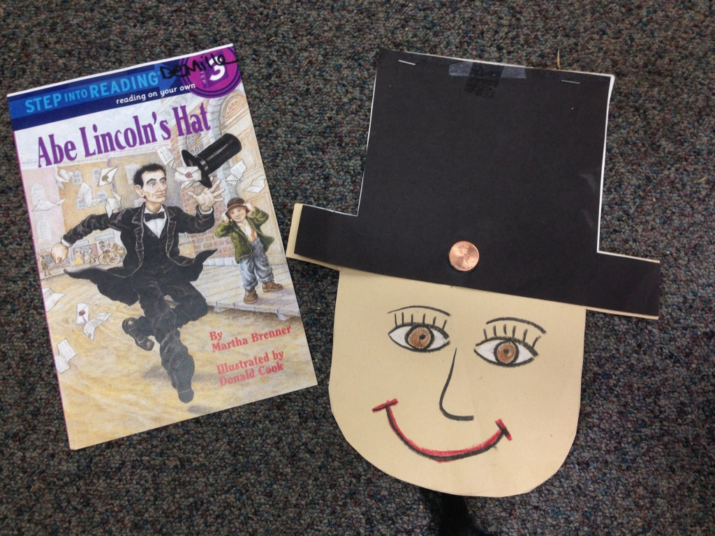 Abraham Lincoln book to go with writing project