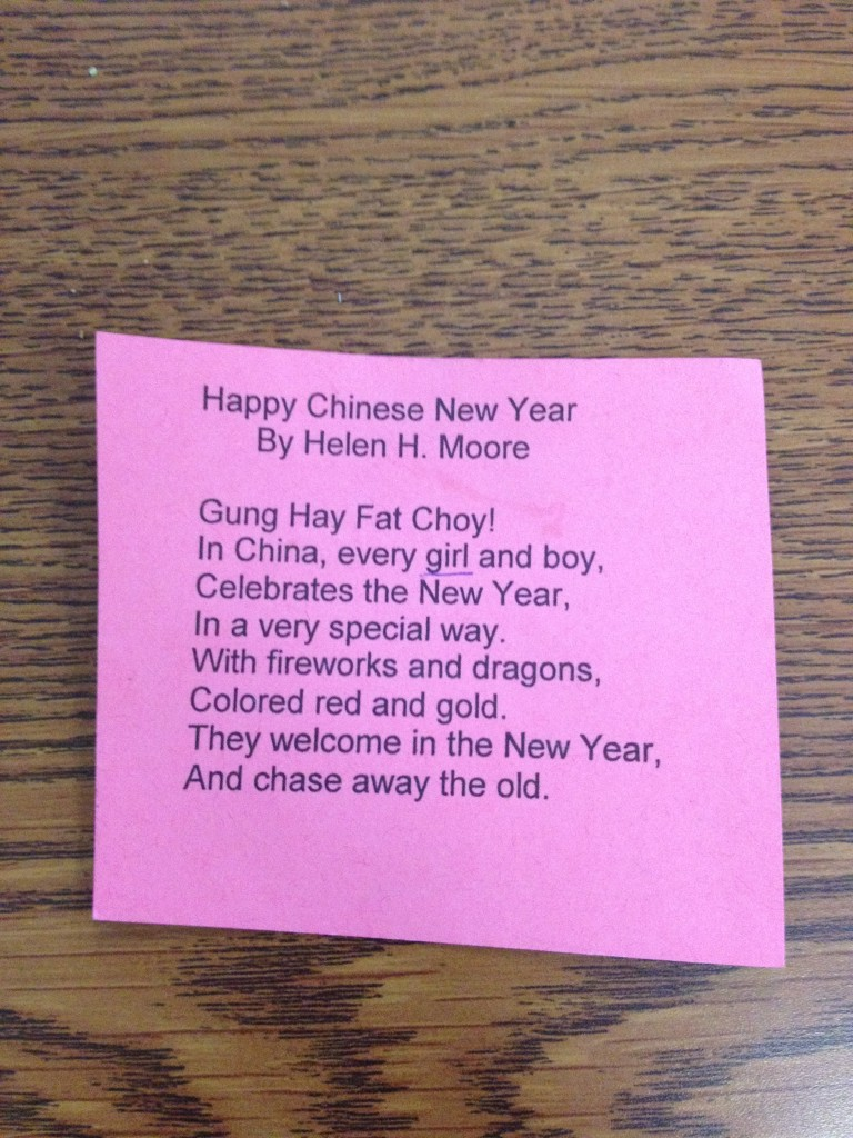 poem in your pocket front