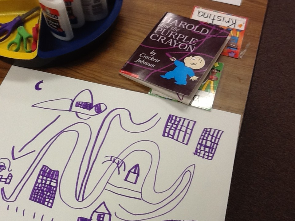 Mapping with Harold and the Purple Crayon