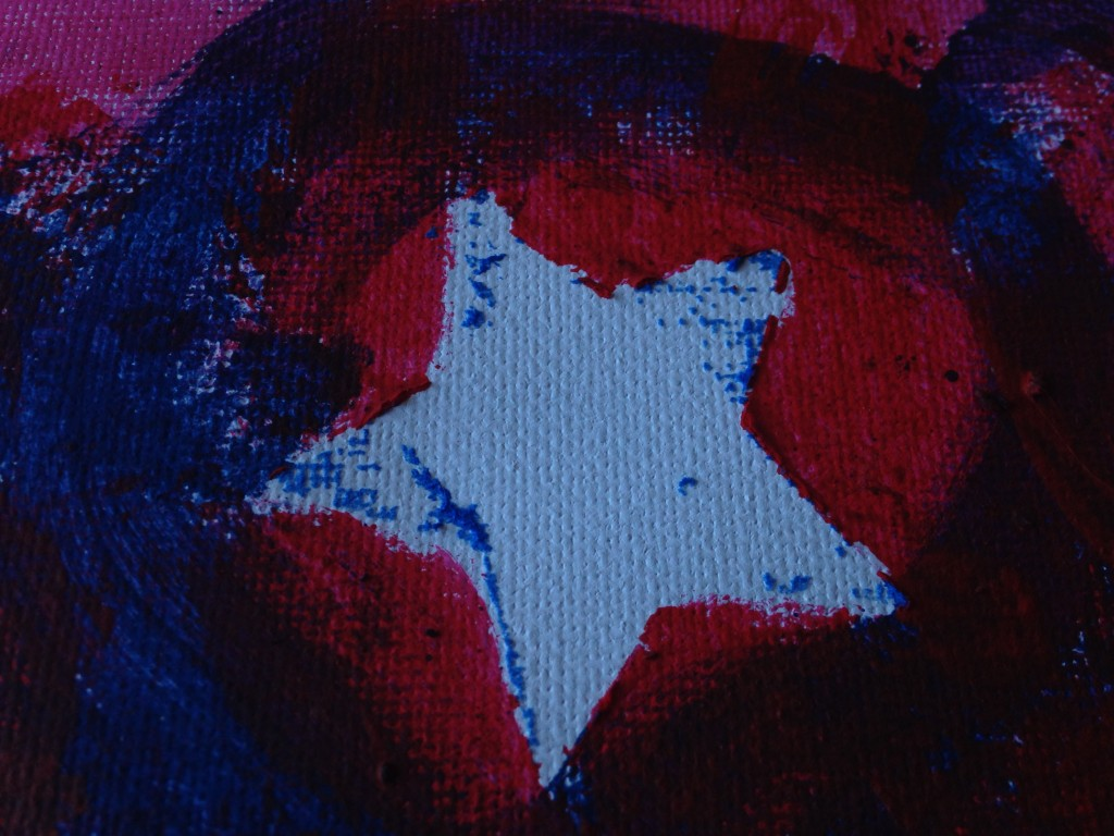 Easy Patriotic Art