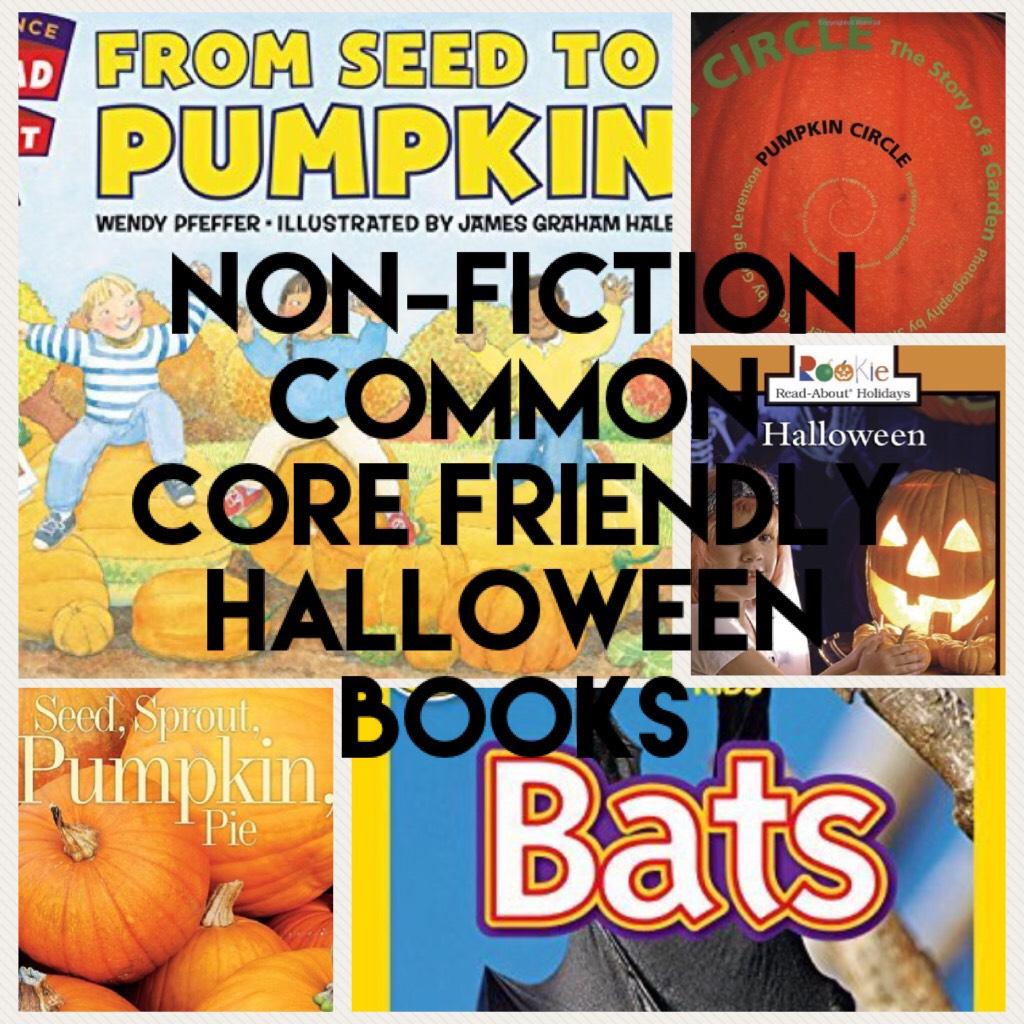 Non-Fiction Common Core Friendly Halloween Books