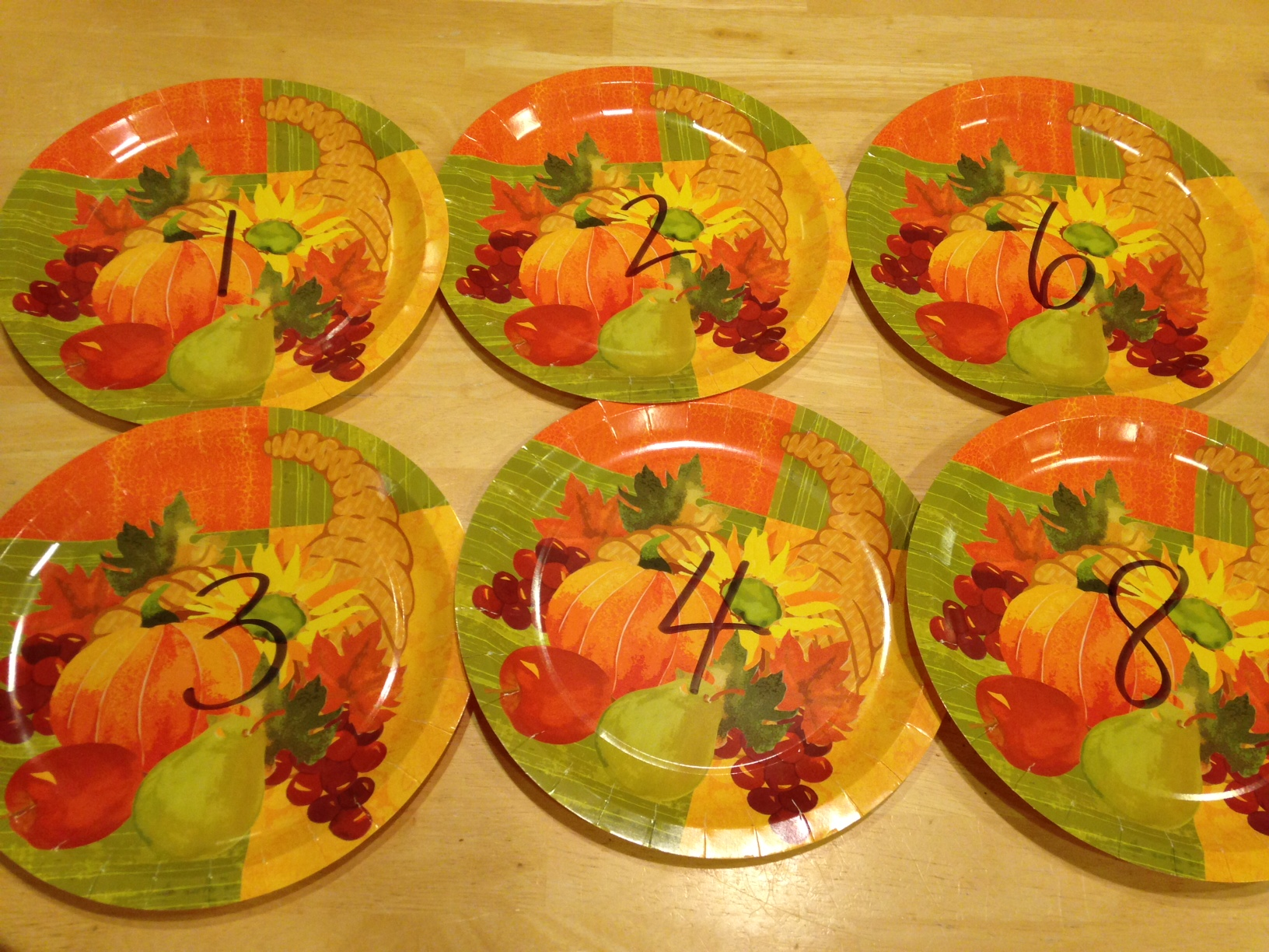 Pumpkin Plate Math