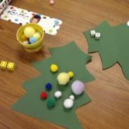 One, Two, Tree!  Easy Seasonal Kindergarten Counting Game