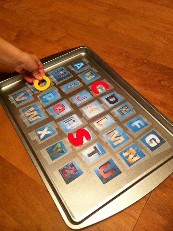 Personalized Magnet Boards Make Learning Letters and Numbers Fun!