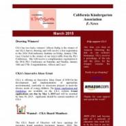 March 2015 Enews