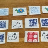 Fabric Cards for Patterning, Matching, Sorting and More!