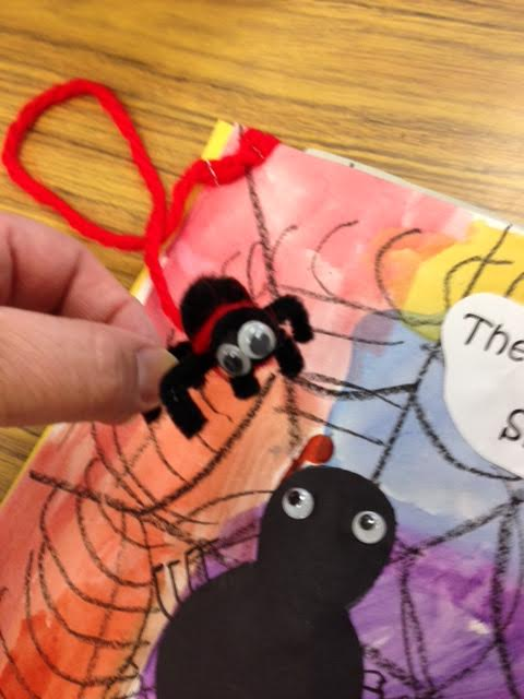 The Itsy Bitsy Spider book