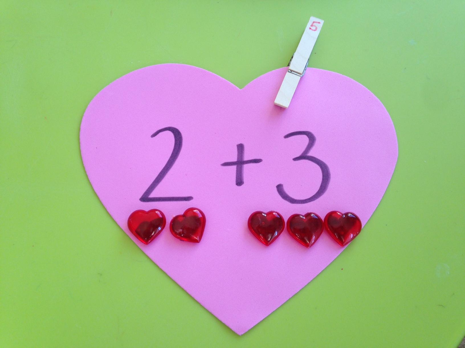 More Easy Valentine's Hands On Activities
