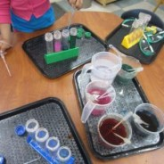 "Make a ""Color Mixing Station"""