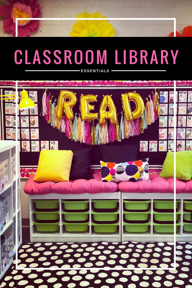 Get Your Classroom Library Ready!